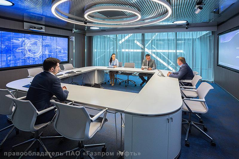 Мультимедийный комплекс учебного центра ПАО «Газпром нефть